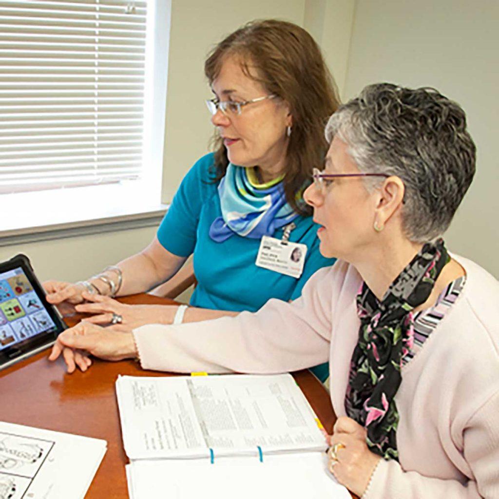 گفتار درمانی برای بیماران پارکینسون