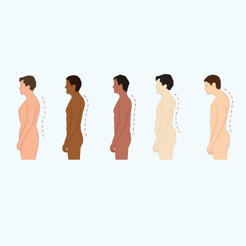 تغییر وضعیت بدن