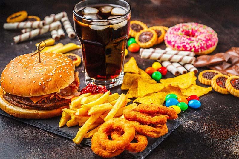 غذای ناسالم